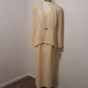 NWT R&M Richards 2 Piece Dress with Jacket